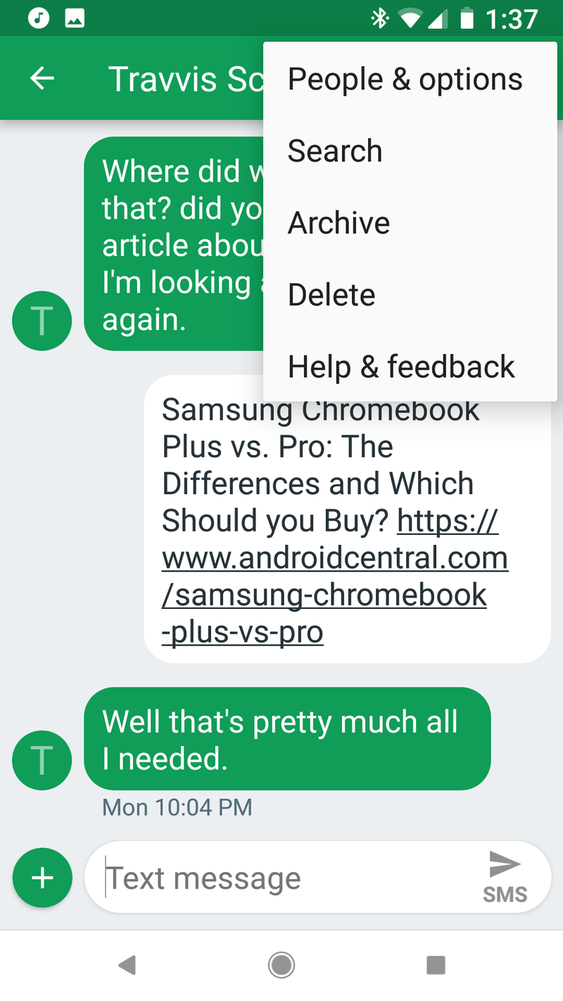 How to get custom text tones back on your Samsung Galaxy S8