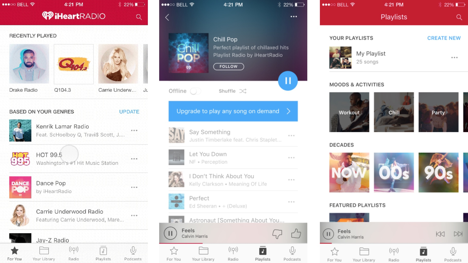 iHeartRadio offers curated playlists to free users - AIVAnet