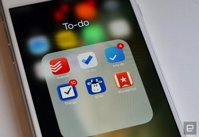 The best to-do apps