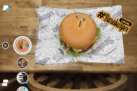 You AR what you eat — augmented reality menus are coming to Snapchat