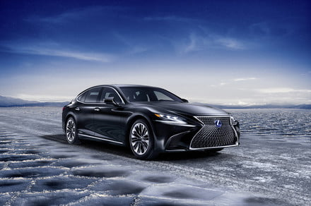 Lexus LS may get plug-in hybrid, EV, and hydrogen fuel cell variants
