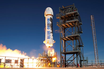 Blue Origin is working on the BE-4, a rocket engine that can launch 100 missions