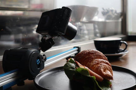 Grip Gear's dolly slides phones, compact cameras around for smooth shots