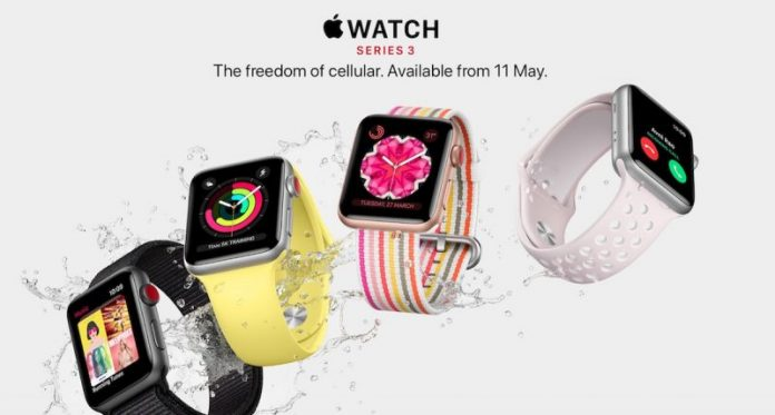 Apple Watch Series 3 With LTE to Launch in Denmark, Sweden, and India Next Month
