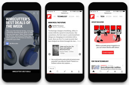Flipboard's latest update makes it easier to stay on top of all things tech