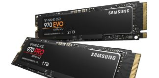 Samsung's 970 series SSDs provide the write speeds you crave