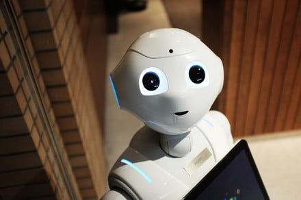 Pepper the robot's latest gig is at the Smithsonian