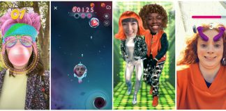 Snapchat's latest AR trick turns Lenses into games
