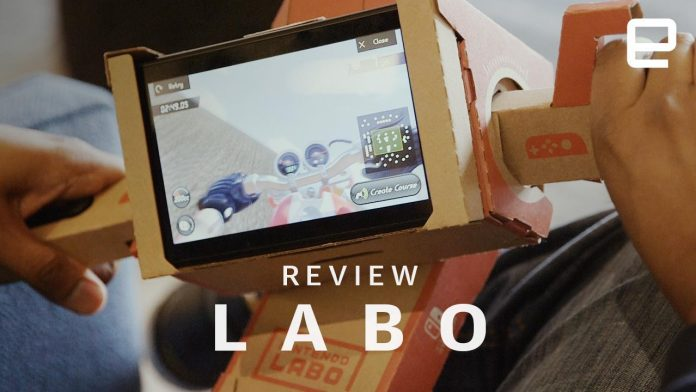 Nintendo Labo review: A labor of love