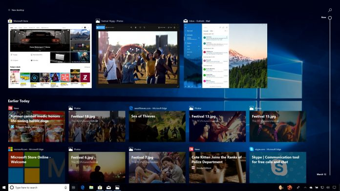Windows 10's Timeline is the star of its latest update