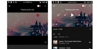 YouTube music app gets a streamlined now playing screen