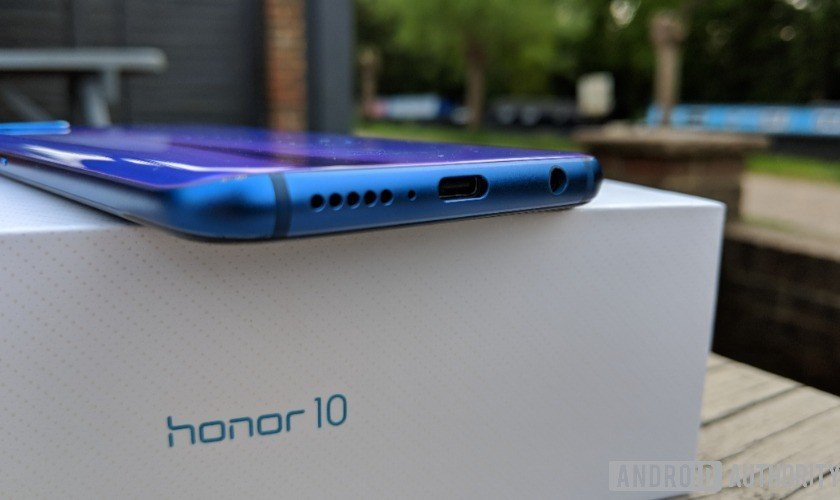 honor 10 speaker headphone jack