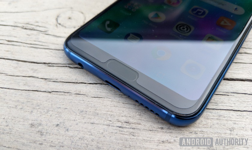 honor 10 fingerprint sensor