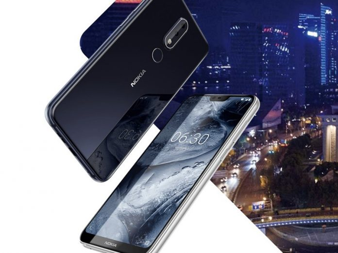 Nokia X6 announced in China with notched display and glass back