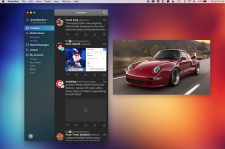 Save your tweeting eyes with Tweetbot 3's new dark mode on MacOS