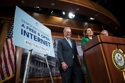 U.S. Senate votes to overturn FCC's repeal of net neutrality protections
