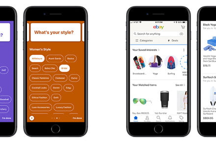New 'Interests' feature recommends products you'll actually want to buy on eBay