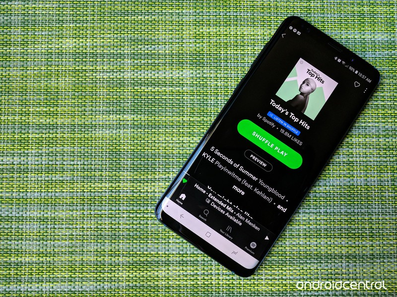 Spotify's Android app is crashing on users when streaming songs via Wi-Fi