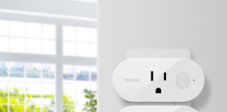 Schedule Teckin's Mini Smart Plug to enhance your daily routine for just $8 each
