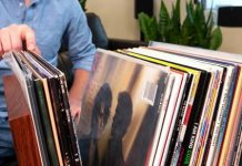 Ditch the milk crates. Store your vinyl properly in this elegant DIY stand