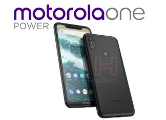 Motorola One Power leaks with Android One branding and a notch