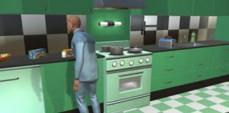 Household robots could learn skills in a virtual world where chores never end