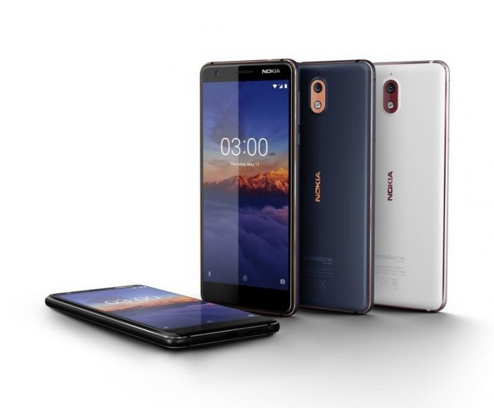 The $159 Nokia 3.1 is now available for pre-order in the U.S.