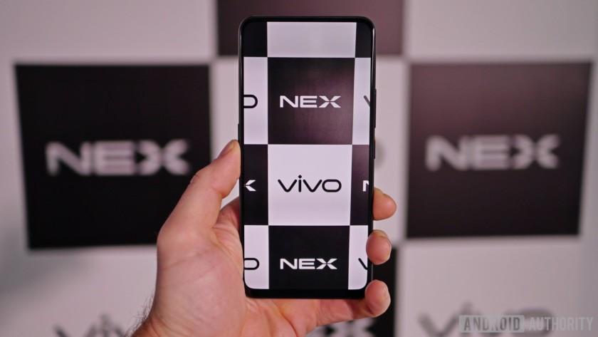 vivo nex display