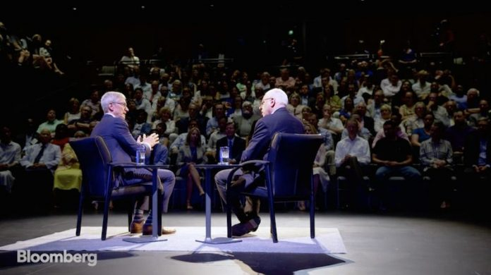 Tim Cook Reflects on Steve Jobs, Apple Watch Saving Lives, and Politics on The David Rubenstein Show