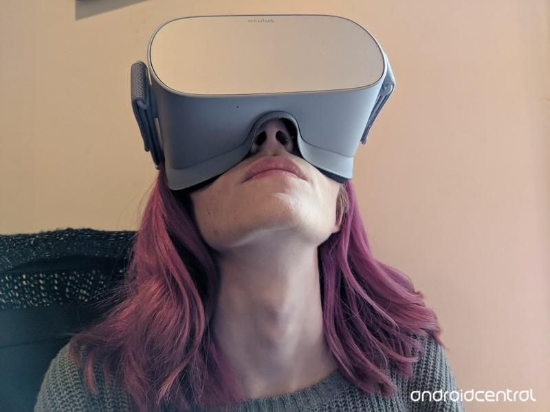 How to stop Oculus Go light bleed