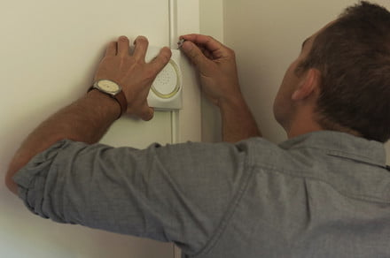 Smart door attachment slows house fires with devilishly simple technique