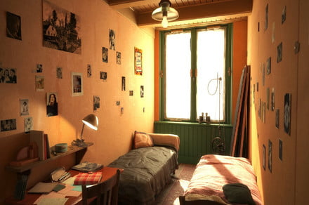 VR experience re-creates the Anne Frank House as it looked during WWII