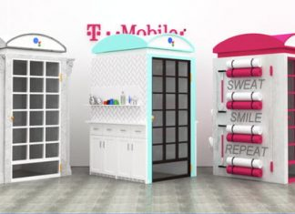 Google and T-Mobile merge old with new in Google Assistant phone booth demos