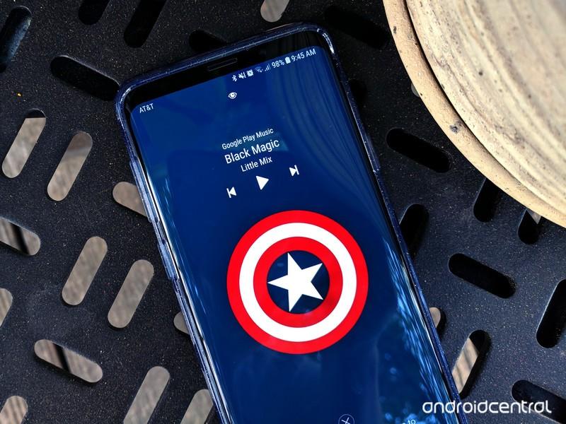 lock-screen-s9plus-captain-america-music