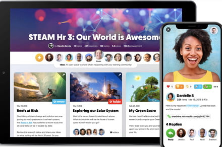 Microsoft takes on Google in the classroom with Flipgrid acquisition