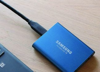 Samsung's T5 500GB portable SSD is down to an all new low price of $128