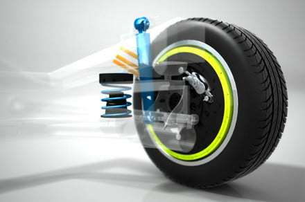 Plug-and-play high-torque electric motors for every wheel on self-driving cars