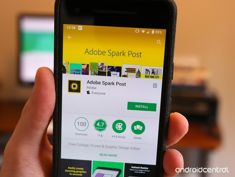 Adobe Spark Post is finally available on Android