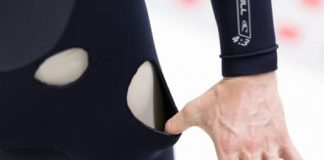 Wetsuit filled with heavy gas could increase divers' survival time by hours