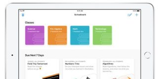 Apple's Free Schoolwork App Now Available to Teachers