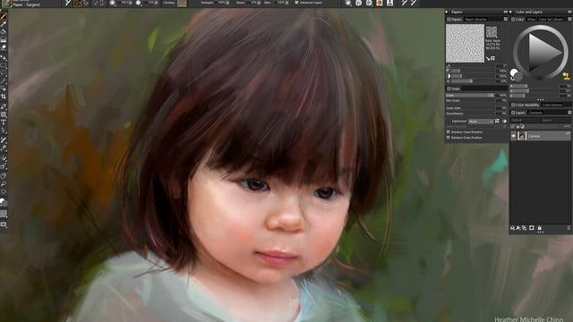 corel painter 2019 announced color  dark ui photo workflow