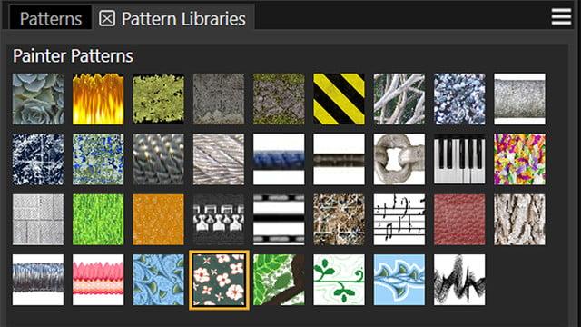 corel painter 2019 announced  patterns