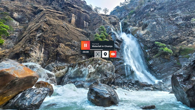 kayak vr google d kayakvrwaterfall
