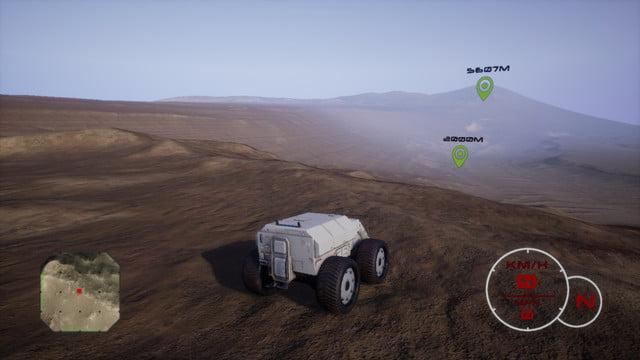 Mars Exploration Simulator Red Rover