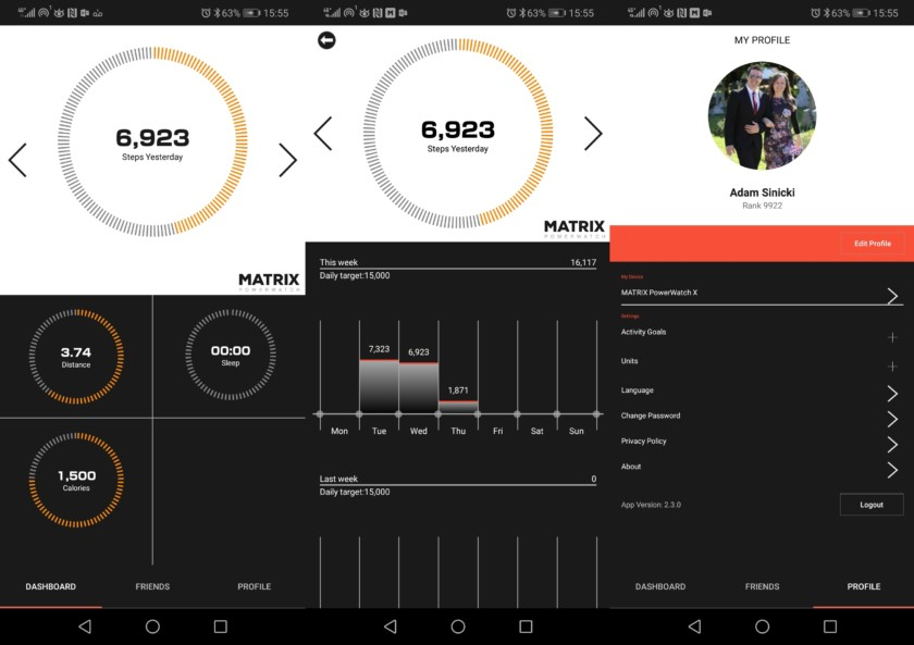 MATRIX PowerWatch App