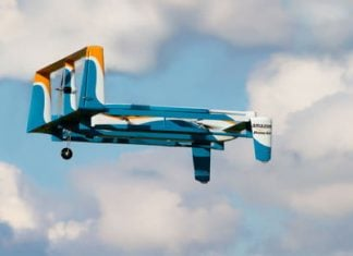 Amazon has an idea to stop its delivery drones being hijacked
