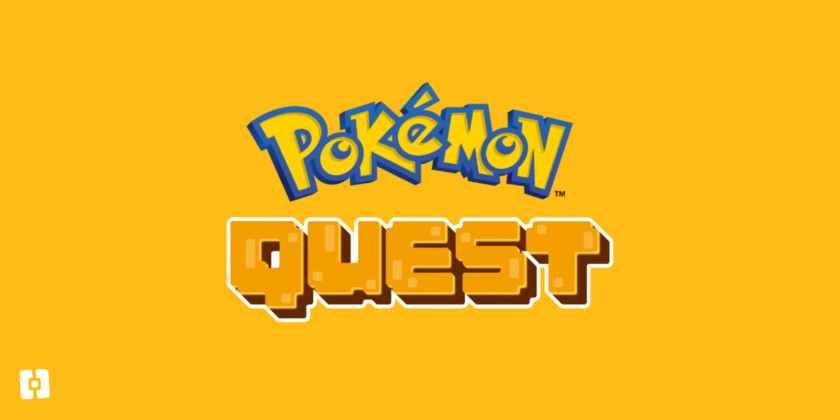 Pokemon Quest Title Screen