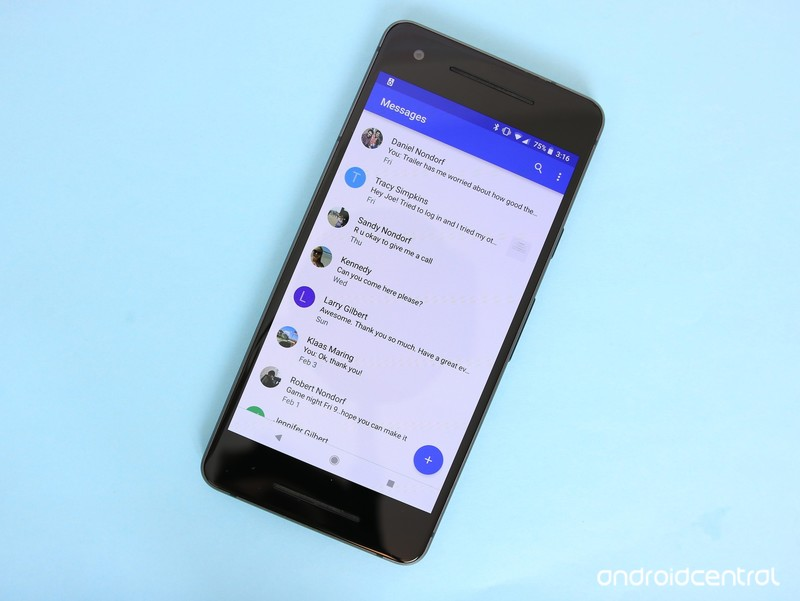 Do you prefer using Samsung Messages or Android Messages?