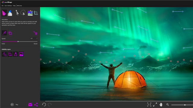 corel photomirage announced motionarrows png