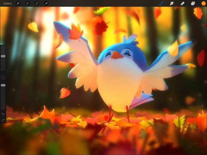 Procreate for iPad Gains New Liquify Filter, Warp Transform Mode and Symmetry Drawing Guide